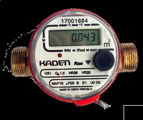 elektronický vodoměr Kaden