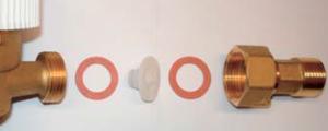 instalace zpětná klapka plastová