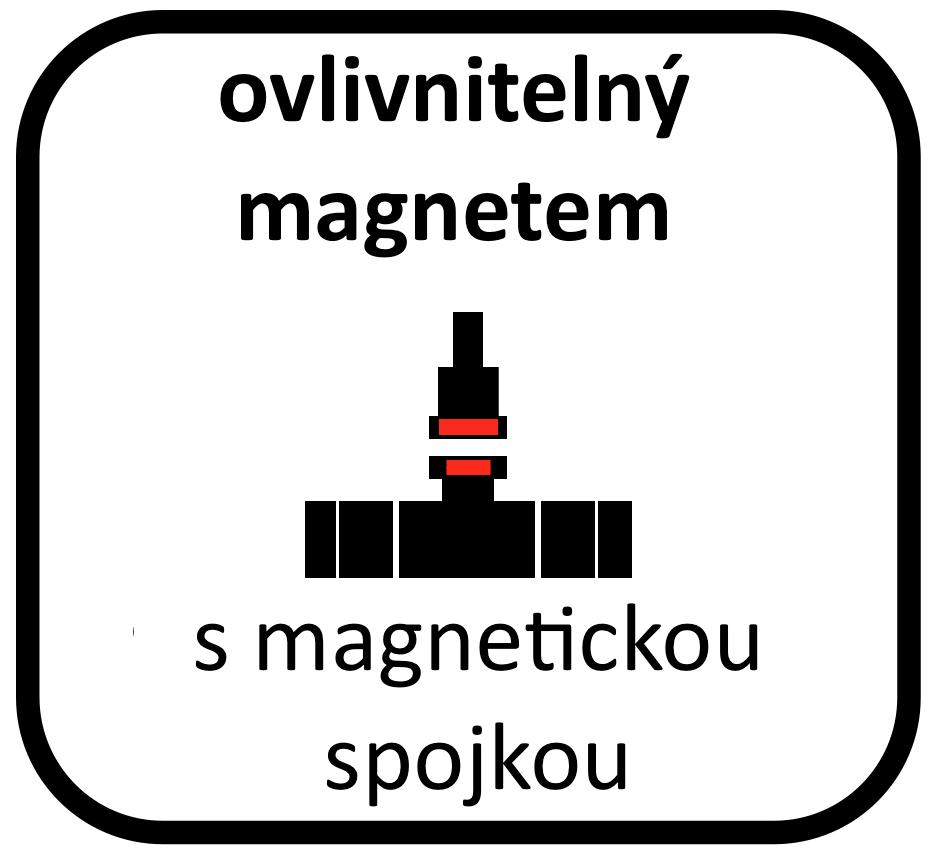 vodoměr s magnetickou spojkou