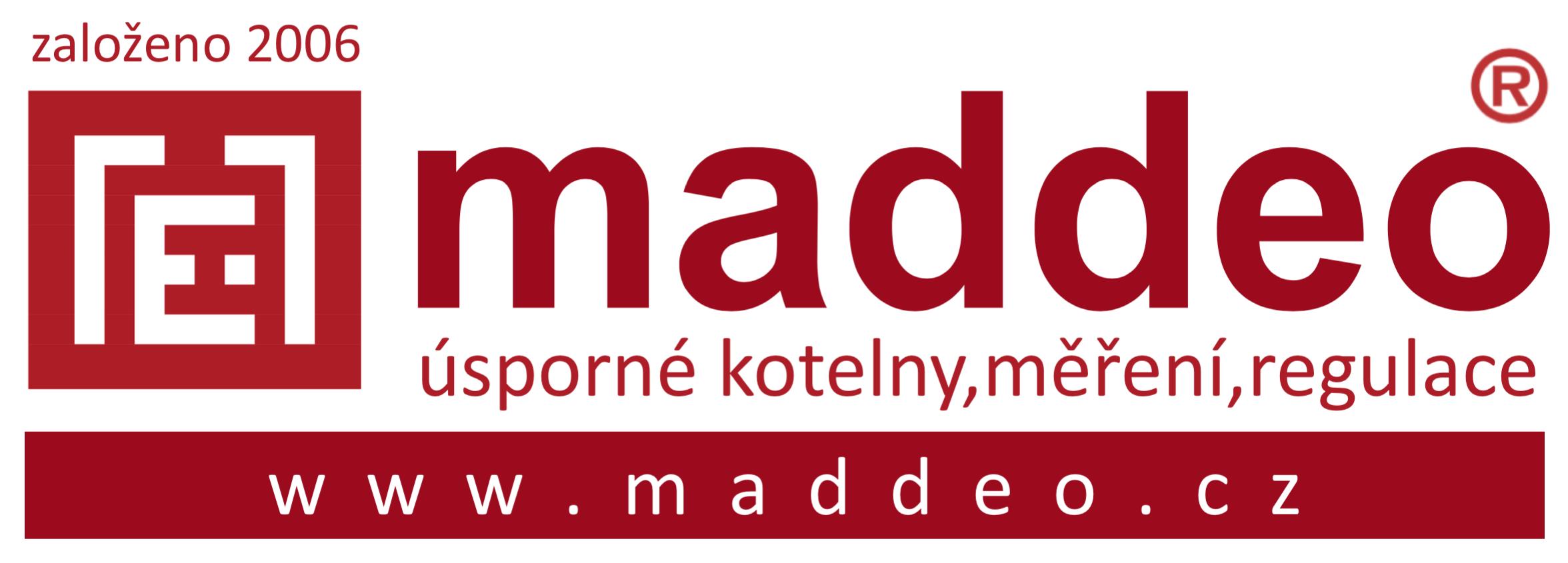 logo maddeo vodoměry aúsporné kotelny
